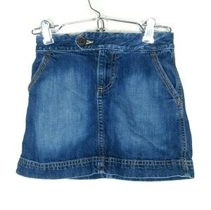 Tommy Hilfiger Girl's Jean Skirt, Size 6